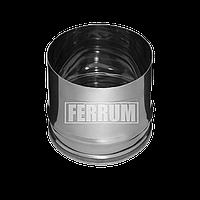 Заглушка для ревизии (430/0,5 мм) Ф 150 внутренняя. Ferrum., фото 1