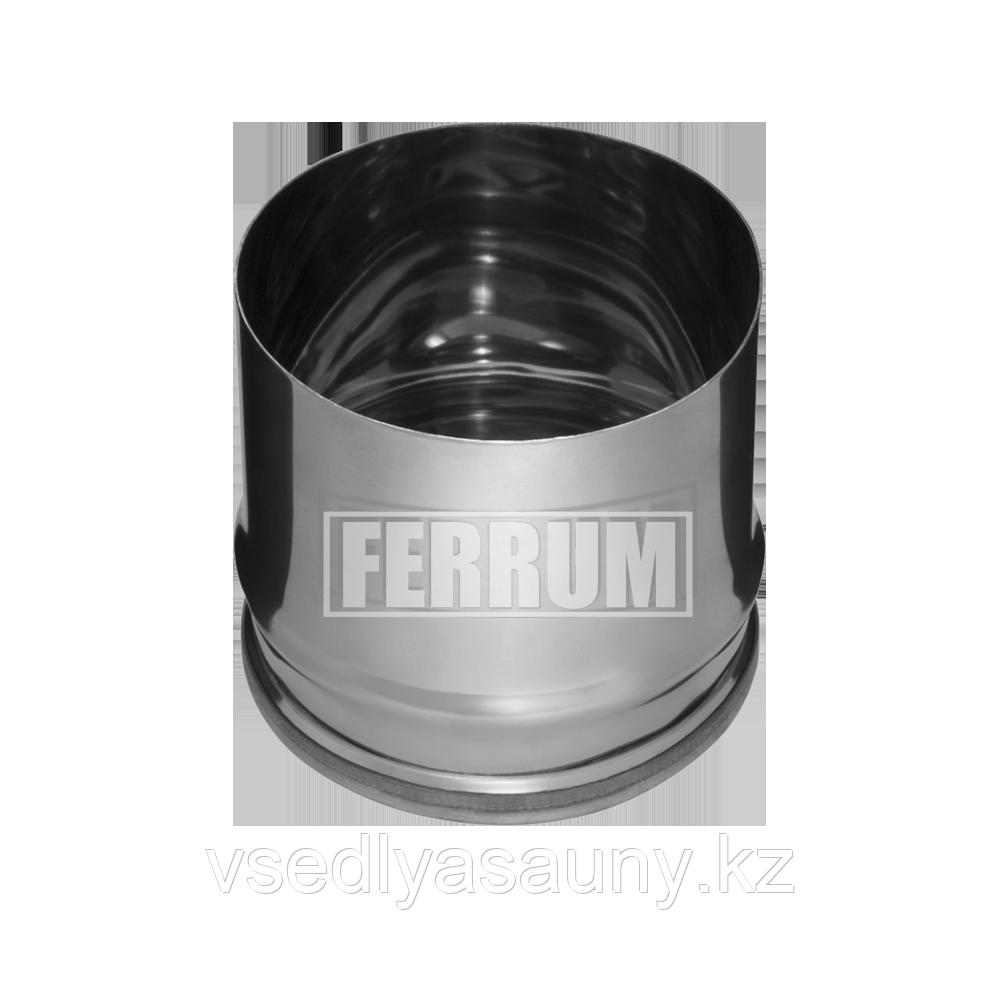 Заглушка для ревизии (430/0,5 мм) Ф 150 внутренняя. Ferrum.