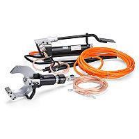 НГПИ-105 Комплект гидравлических ножниц с ножной помпой для резки кабелей под напряжением