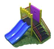 Детский игровой комплекс Гребешок