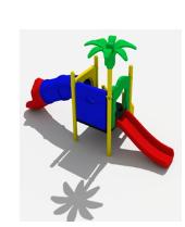 Детский игровой комплекс Слоненок №1