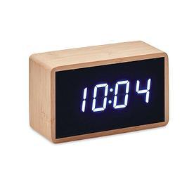 Настольные часы из бамбука, MARA CLOCK