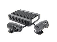 Видеорегистратор INCAR VR-750/ для скрытой устан.2 камеры, Full HD, wi-fi, GPS