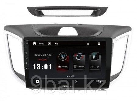 "ШГУ Hyundai Creta 16+ (Nakamichi NTA-2410) 4x50Вт,RDS,MP5,USB,BT,2.5D экран,мультиподсветка,MirrorLink, 10"""