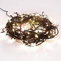 """Светодиодная гирлянда """"Нить"""" (""""Твинкл лайт"""") - 6 метров, 40 лампочек, теплый-белый свет, мерцающая"""