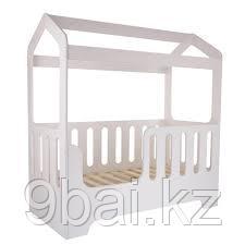 PITUSO Подростковая кровать домик DOMMI Белый J-505 165*850*175 см