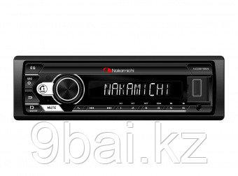 Nakamichi NQ511BW/ 1 din медиа-ресивер, USB, AUX, ВТ, ПДУ, 4*50 Вт, бел./