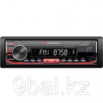 Nakamichi NQ610BR /1 din медиа-ресивер, USB, AUX, ВТ, 4*50 Вт, съемная панель, син./