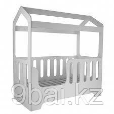 PITUSO Подростковая кровать домик DOMMI Серый J-505 165*850*175 см