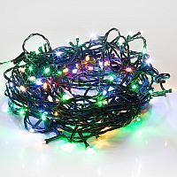 """LED гирлянда """"Нить"""" (""""Твинкл лайт"""") - 15 метров, 120 лампочек, разноцветный свет, мерцающая"""