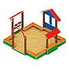Песочный дворик Теремок ИО 6.01.04, фото 4