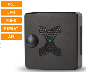 Универсальный мультидатчик MultiSensor-LAN-RF с PoE