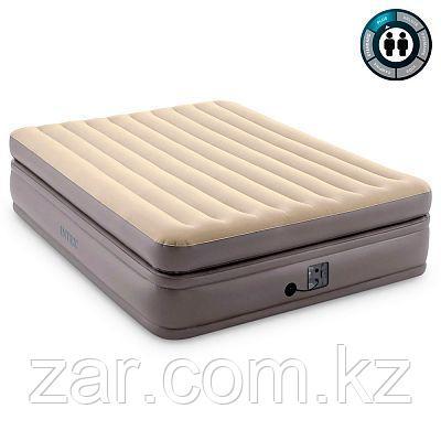Надувная кровать Intex 64164 152х203х51см встр.нас. 220В