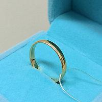 Обручальное кольцо / размер 17,5