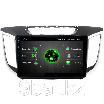 ШГУ Hyundai Creta 16+ (Incar PGA-2410c) Android 8.1/1024*600, BT, QLED, 2.5D экра