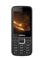Мобильный телефон Nobby 300 Black/Gray (Камера)
