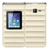 Мобильный телефон Flip Golden (раскладушка, камера)