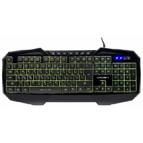 Клавиатура компьютерная игровая CROWN CMGK-401
