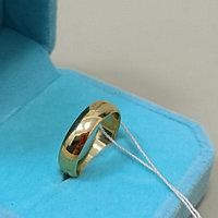 Обручальное кольцо - 16 размер