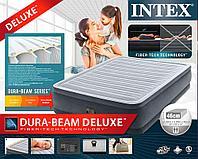 Надувная кровать Intex 64414 152х203х46см встр.нас. 220В, фото 1