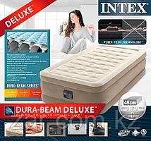 Надувная кровать Intex 64426  99х191х46см встр.нас. 220В