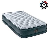Надувная кровать Intex 67766 99х191х33см встр.нас. 220В