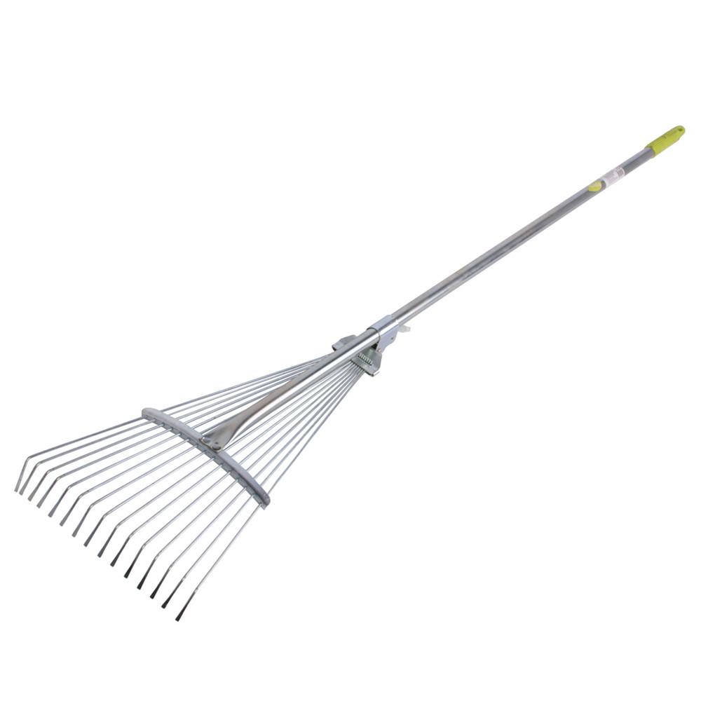 Грабли LISTOK веерные металл с алюм ручкой  /24, LT 50374 LISTOK