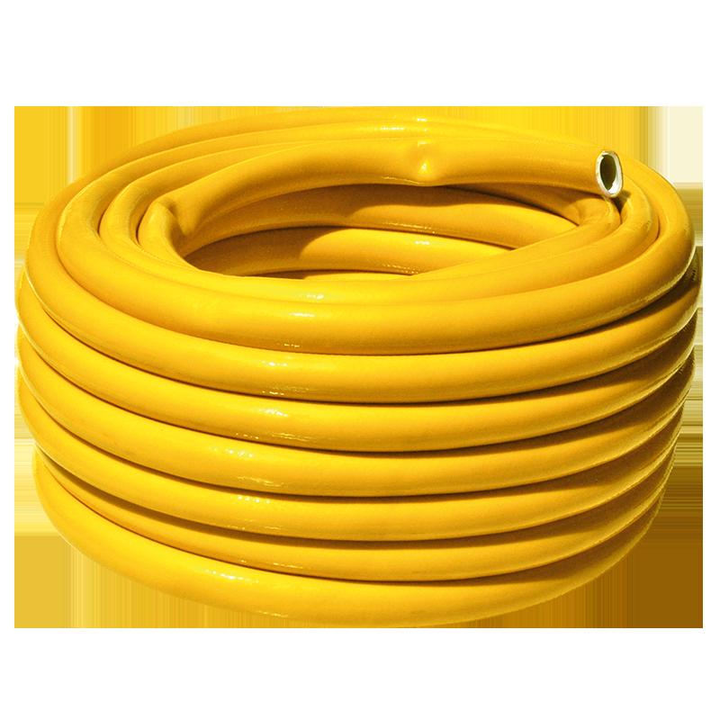 Шланг поливочный 2мм рулон 25 м   Янтарь желтый