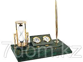 Настольный прибор Дворянское собрание, золотистый/зеленый