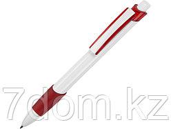 Ручка шариковая Соната, белый/красный