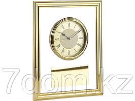 Часы настенные, золотистый/прозрачный