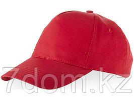 Бейсболка Memphis 5-ти панельная, красный