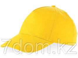 Бейсболка Memphis 5-ти панельная, желтый