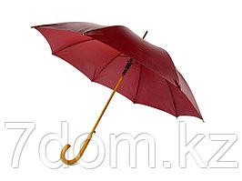 Зонт-трость Радуга, бордовый