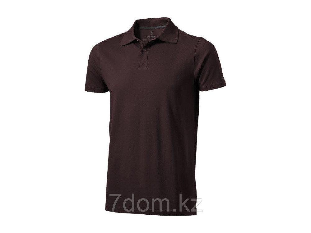 Рубашка поло Seller мужская, шоколадный коричневый - фото 1