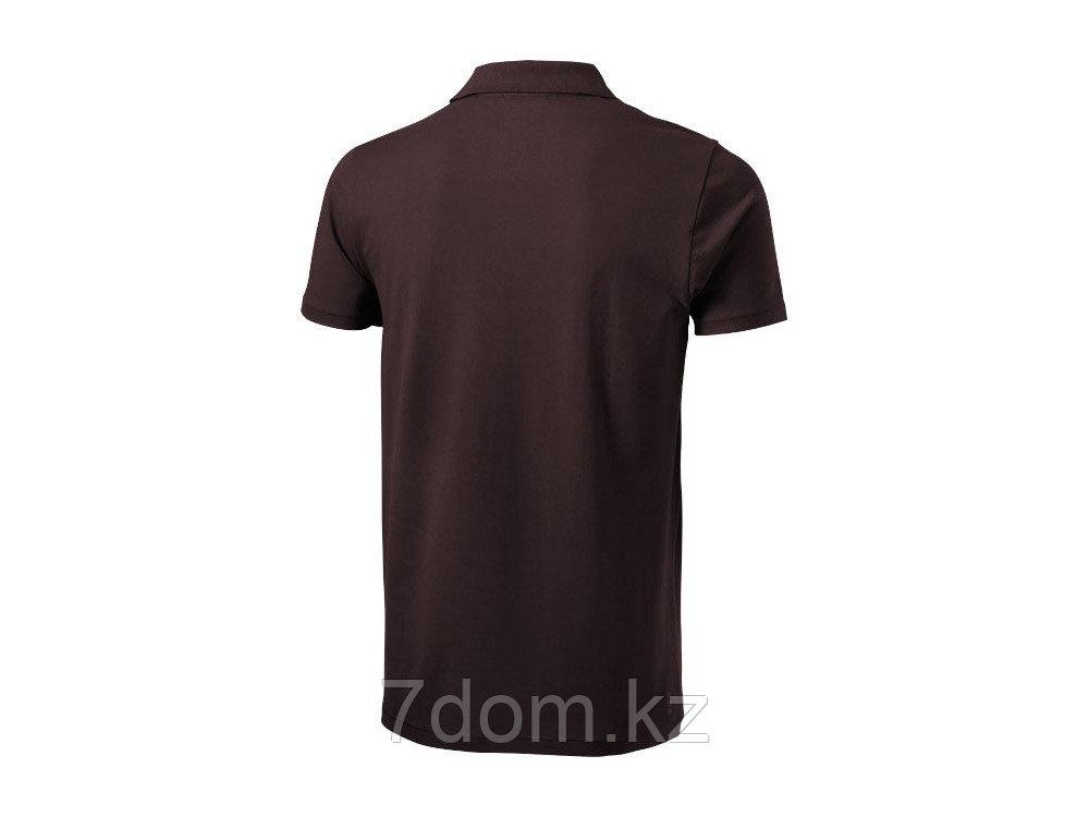 Рубашка поло Seller мужская, шоколадный коричневый - фото 2