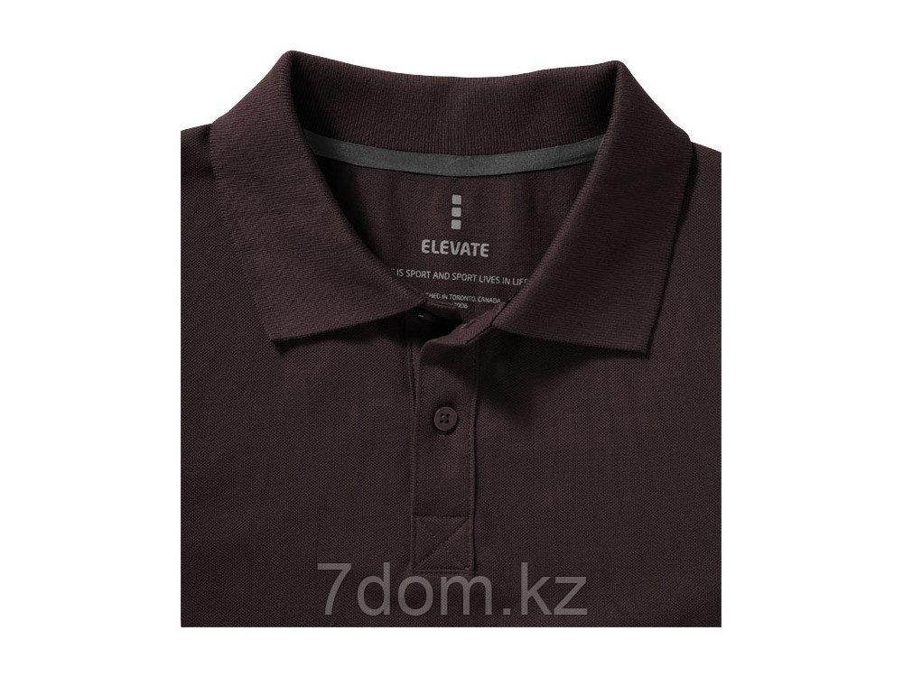 Рубашка поло Seller мужская, шоколадный коричневый - фото 5