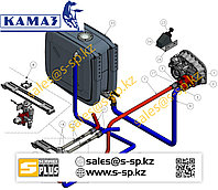 Комплект гидравлики на КамАЗ 55111