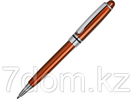 Ручка шариковая Ливорно оранжевый металлик