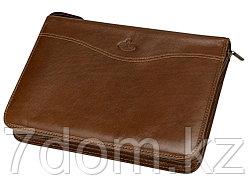 Ежедневник в папке на молнии Первое лицо Giulio Barсa, коричневый