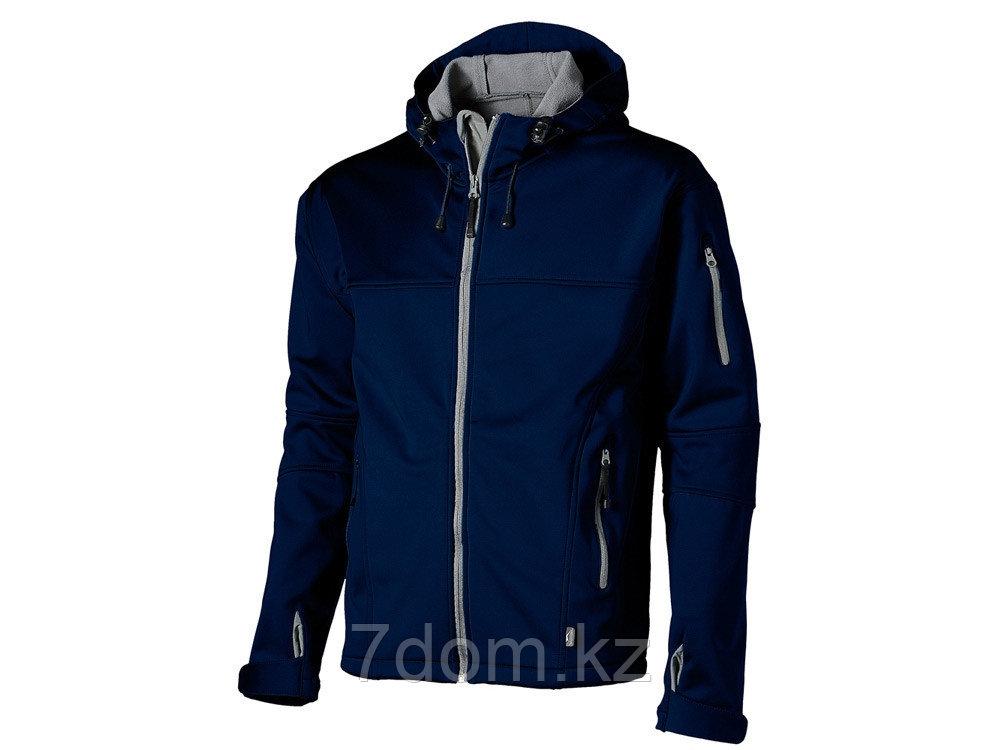 Куртка софтшел Match мужская, темно-синий/серый - фото 1