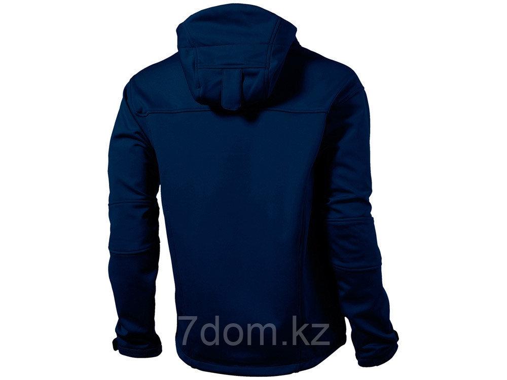 Куртка софтшел Match мужская, темно-синий/серый - фото 2