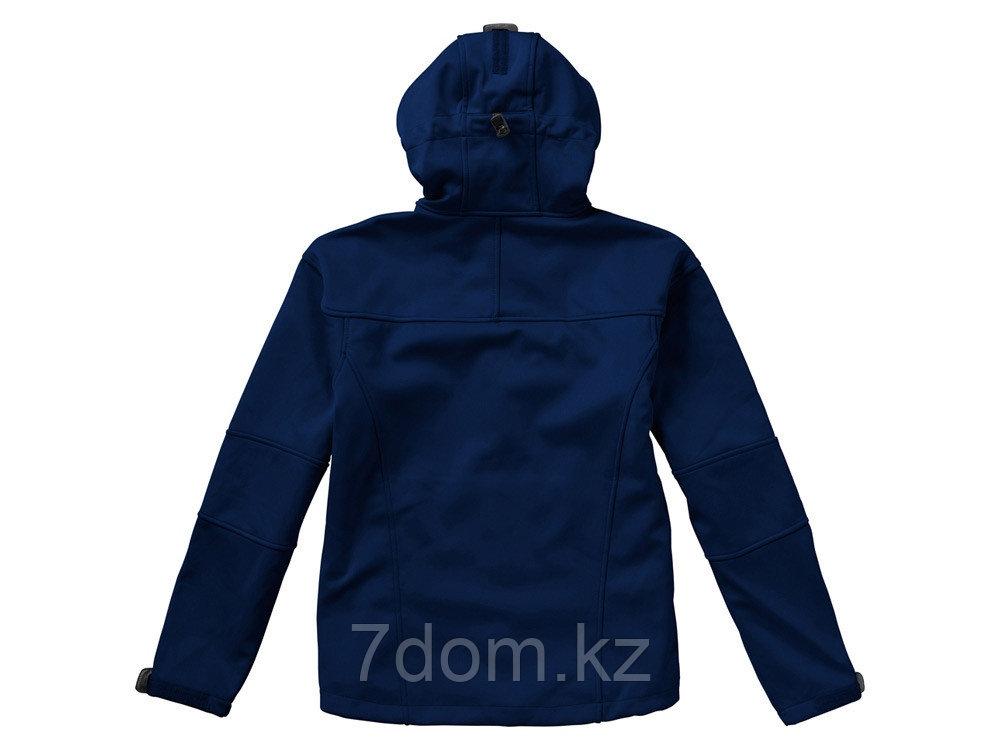 Куртка софтшел Match мужская, темно-синий/серый - фото 4
