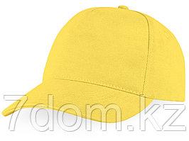 Бейсболка Florida 5-ти панельная, желтый