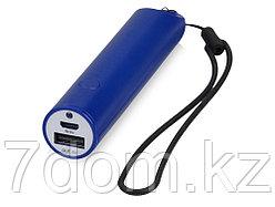 Портативное зарядное устройство на шнурке, 2200 mAh, синий