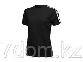 Футболка Baseline женская, черный/белый