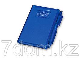Записная книжка Альманах с ручкой, синий