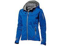 Куртка софтшел Match женская, небесно-синий