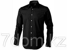Рубашка Hamilton мужская с длинным рукавом, черный