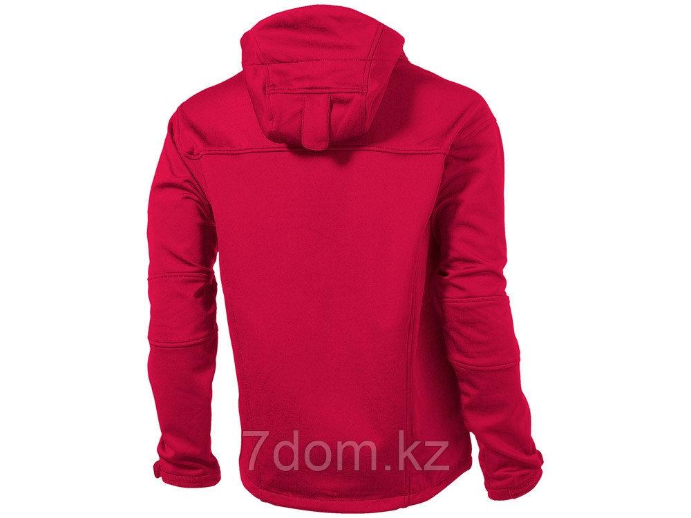 Куртка софтшел Match мужская, красный/серый - фото 2